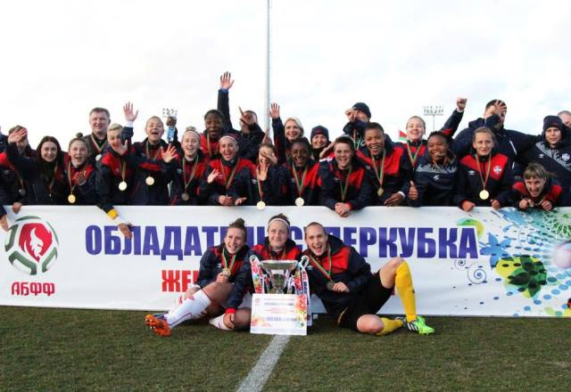 Matches for the Belarusian Super Cup among women's teams