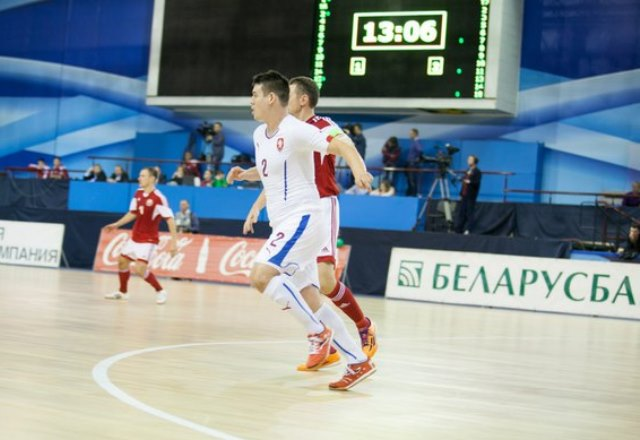 UEFA Europa League Futsal Match Belarus - Czech Republic
