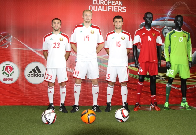 Presentation of the match kits of the national team